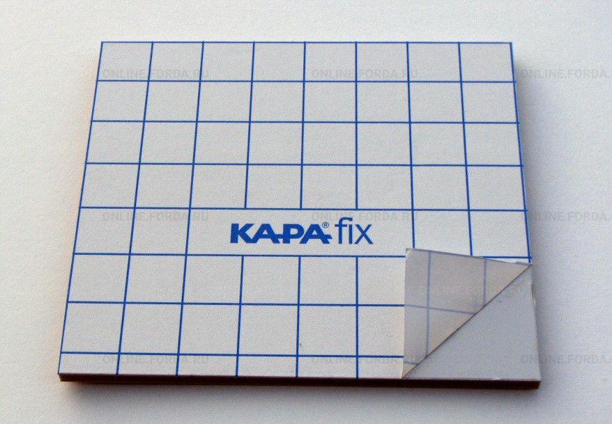 Лист Kapa-Fix 5мм с двустор. клеем