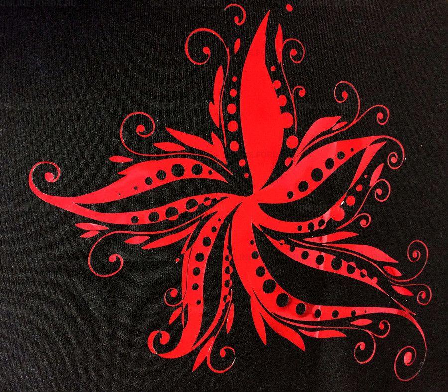 Фото аппликации на текстиле плёнкой PromaFlex Plus