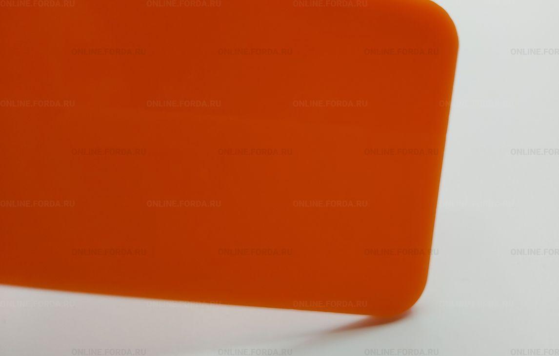 Оранжевый лист акрилового стекла Plexiglas ХТ