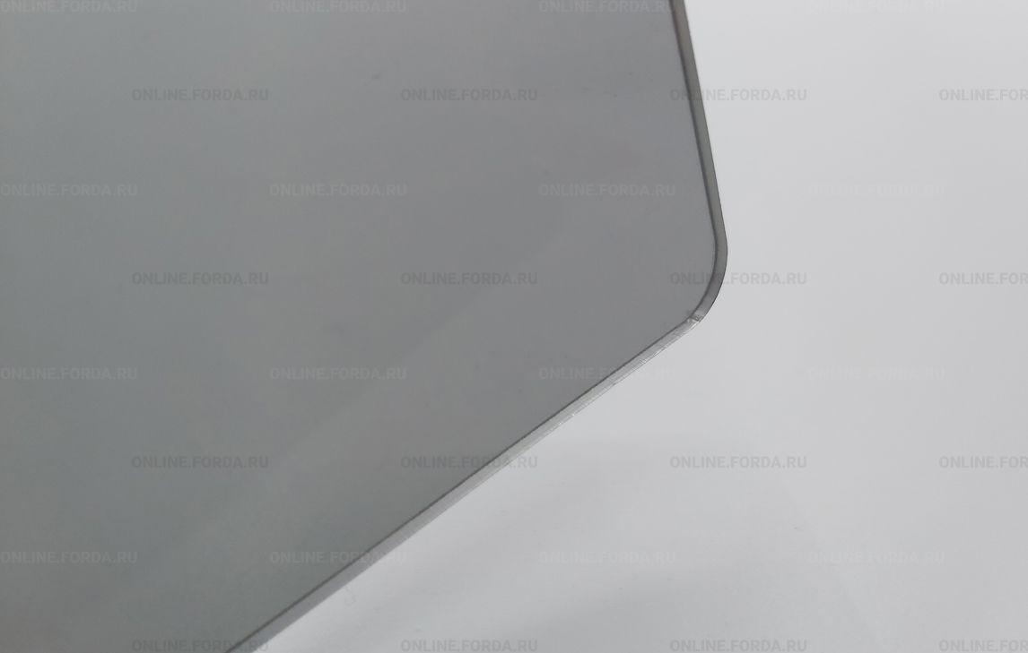 Прозрачный серый тонированный пластик - акрил Plexiglas ХТ