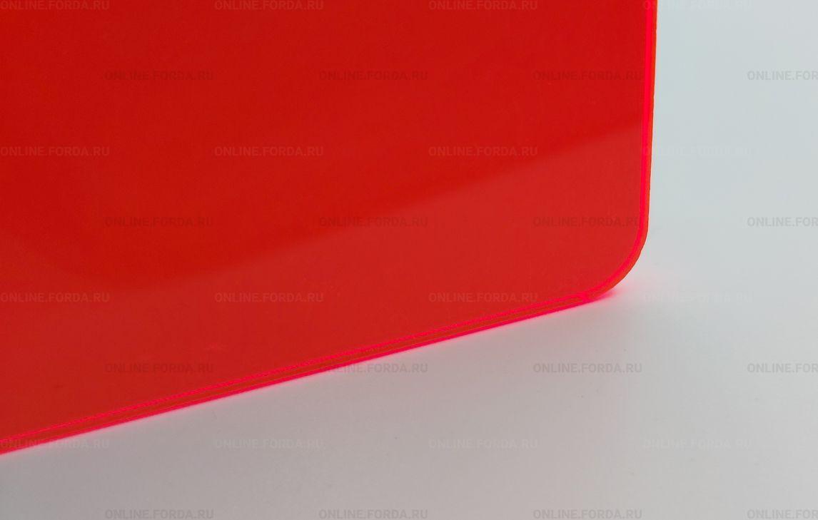 Красное акриловое стекло Plexiglas ХТ