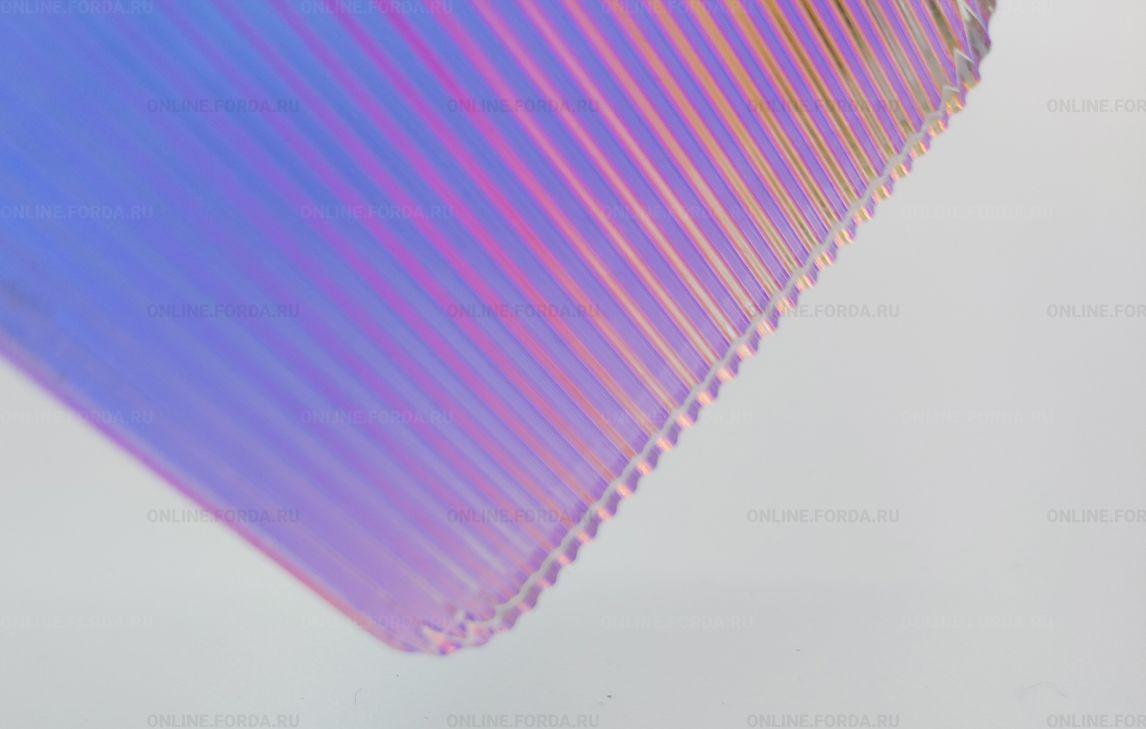 Текстурированные радужный эструзионный акрил 3 мм