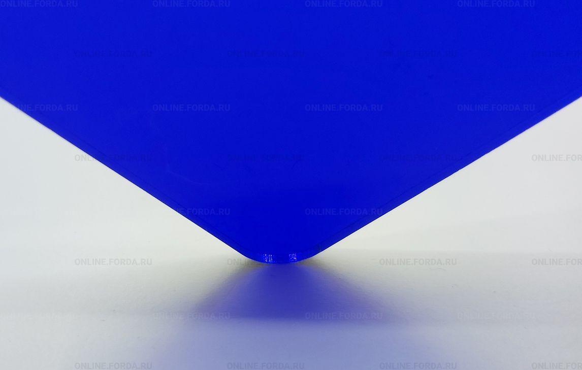 Экструзионное стекло Plexiglas ХТ 3 мм синего цвета