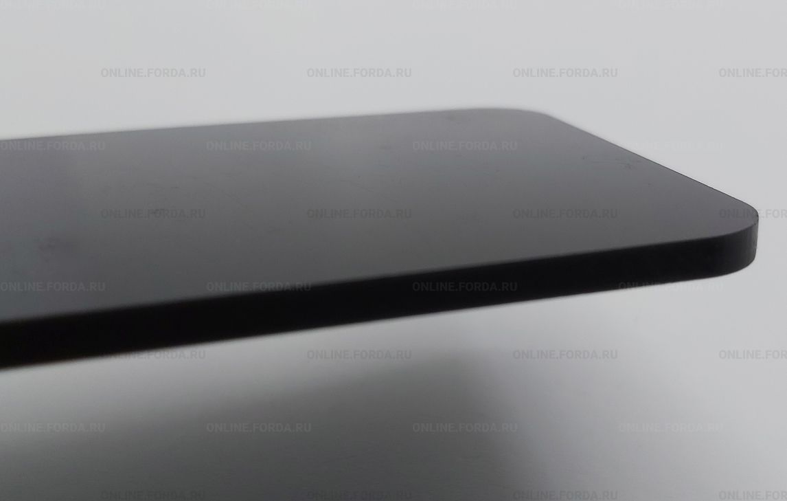 Чёрный матовый пластик Plexiglas ХТ 3 мм