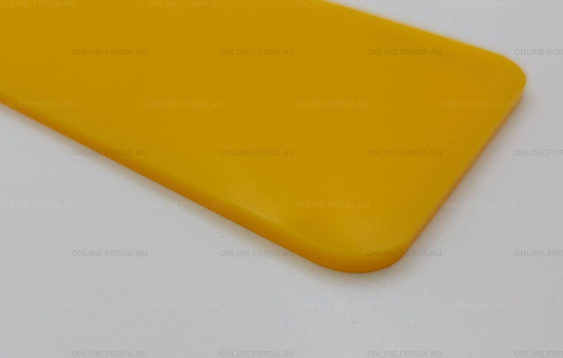 Жёлтое акриловое стекло Plexiglas ХТ 3 мм
