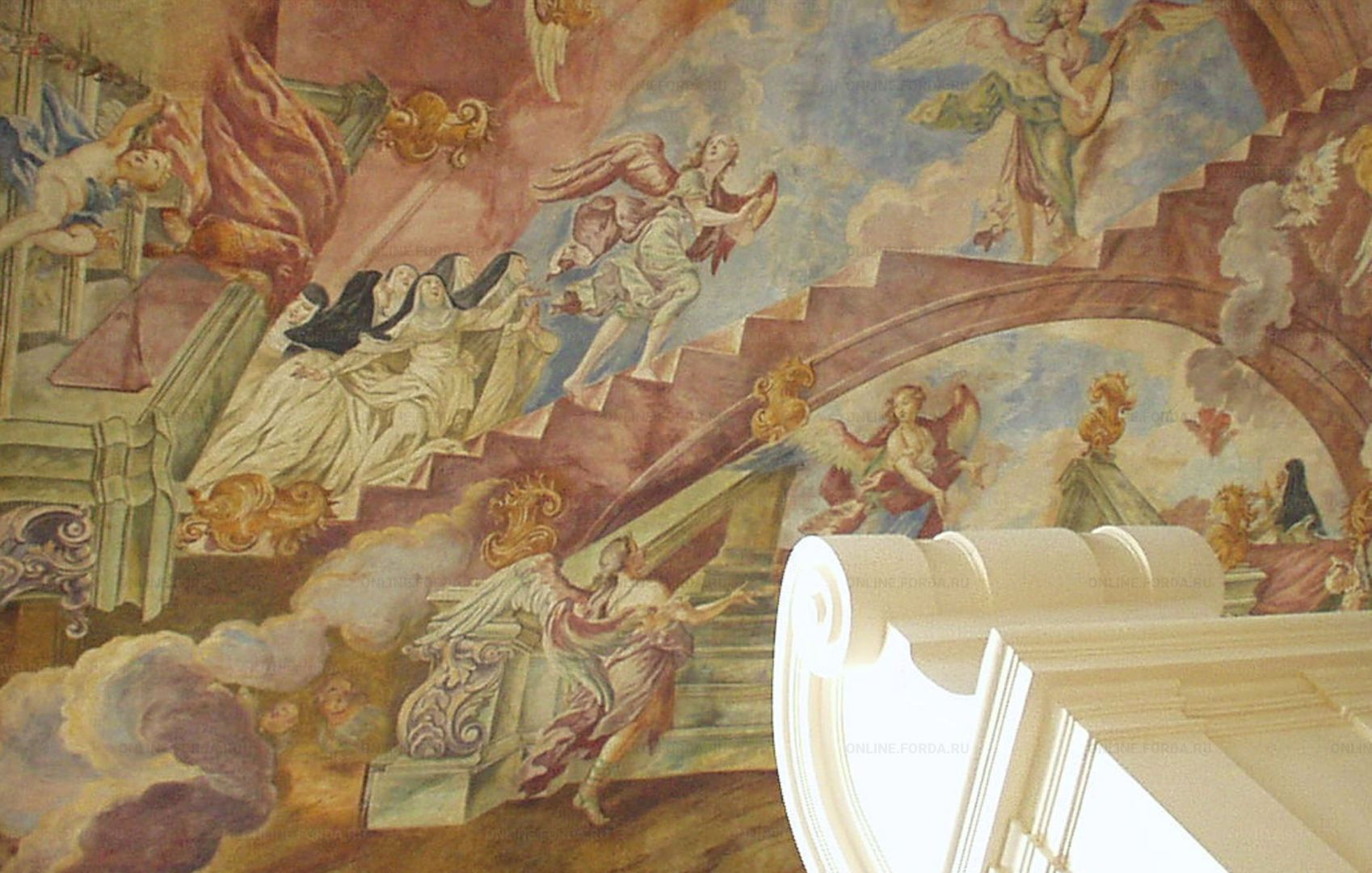 Пленка PS Fresco для изготовления  фресок