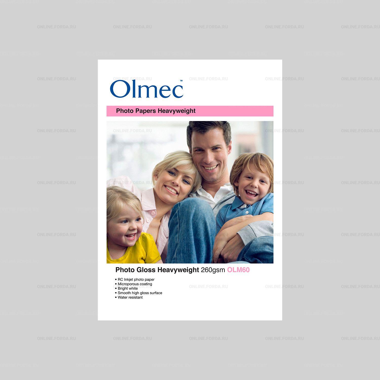 Фотобумага Olmec Photo 260gsm A2-50