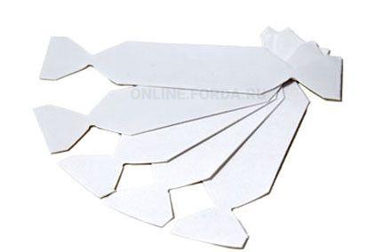 Накладка для прямоугольного шпателя микрофибровая , 5 шт. (арт. 21910016)