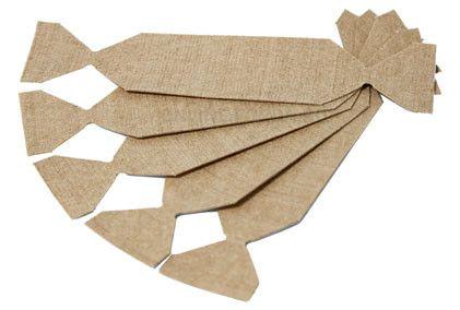 Накладка из алькантары для прямоугольного шпателя, 5 шт. (арт. 21910023)