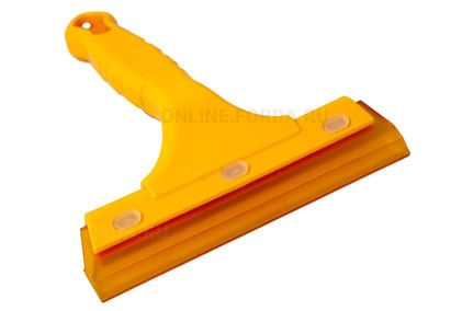 Шпатель с силиконовой накладкой гибкий (160*140 мм) (арт. 21940010)