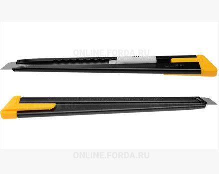 OL-180-BLACK Нож OLFA с выдвижным лезвием, черный, 9мм