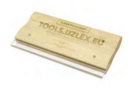 Деревянный ракель для жёстких плёнок, CLEAR-PU-22 HARD, 220 мм (арт. 21910126)