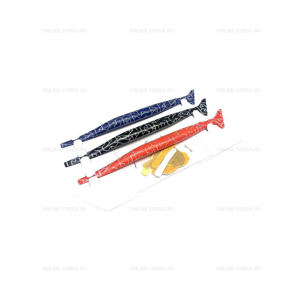 Набор инструментов для оклейки ТРИ БРАТА (спецракели для труднодоступных мест) (арт. 21930022)