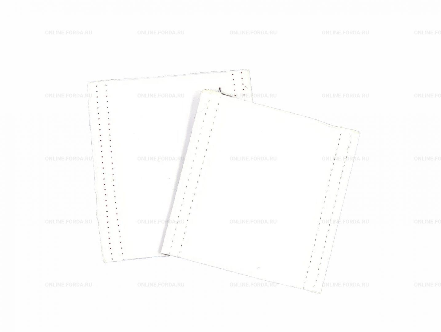 """Насадка - двойной UZLEX FIBER - для EASY STICK ракеля простого мягкого зеленого 4"""" (арт. 21911085)"""
