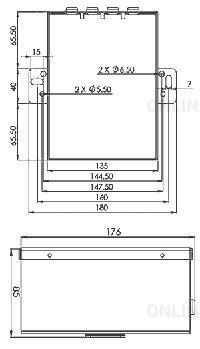 Блок питания HP50 Power Unit 5,5кВт (2 контакта)