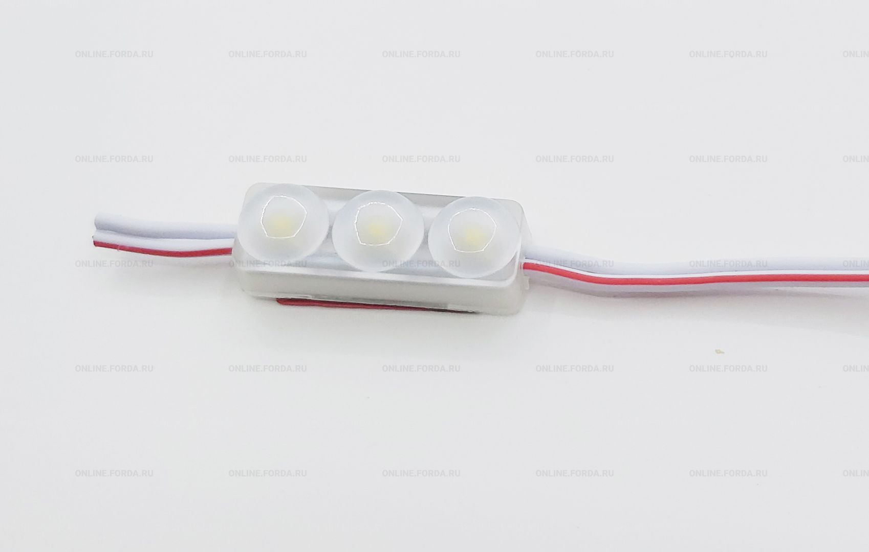 Светодиодный модуль для засветки сложных элементов