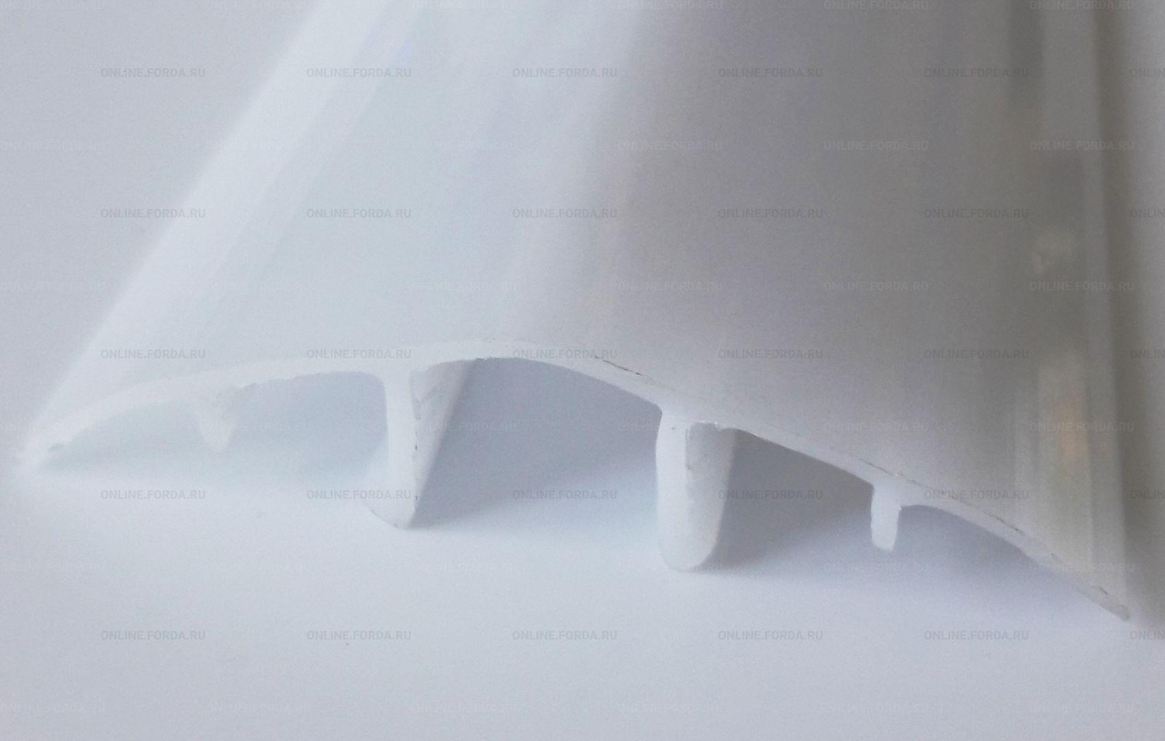 Профиль поликарбонатный верхний соединительный разъемный