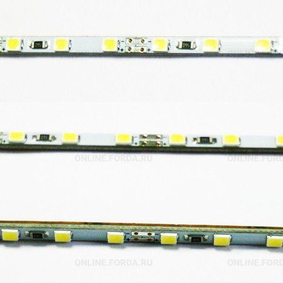 Линейка жесткая узкая 3,8 мм, 54 led 2835 smd (22-24Lm) 12V