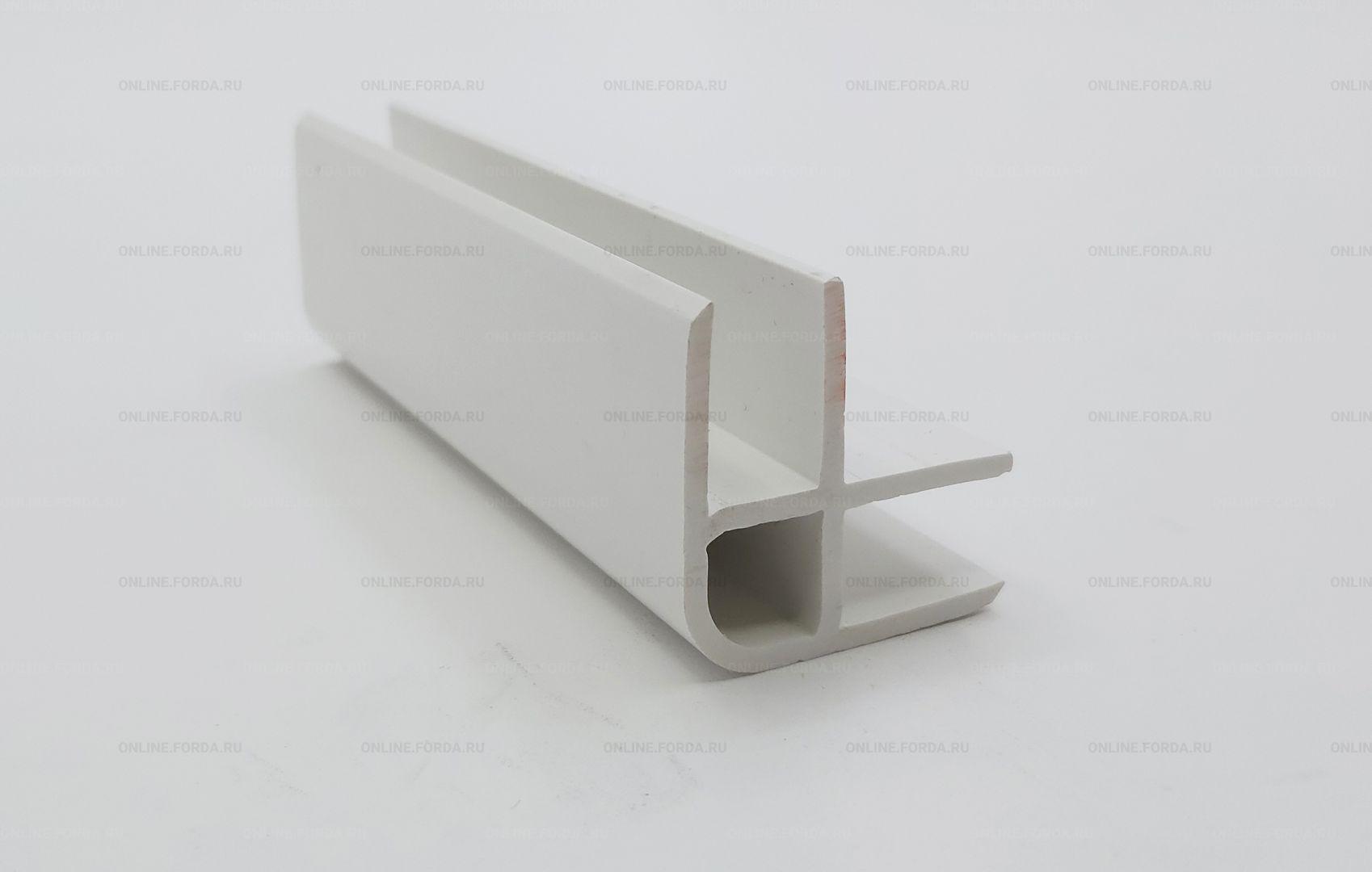 Профиль пластиковый угловой