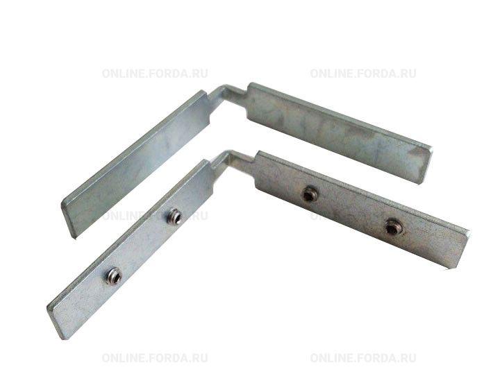 Угол инпост 12мм без винтов/с винтами сталь