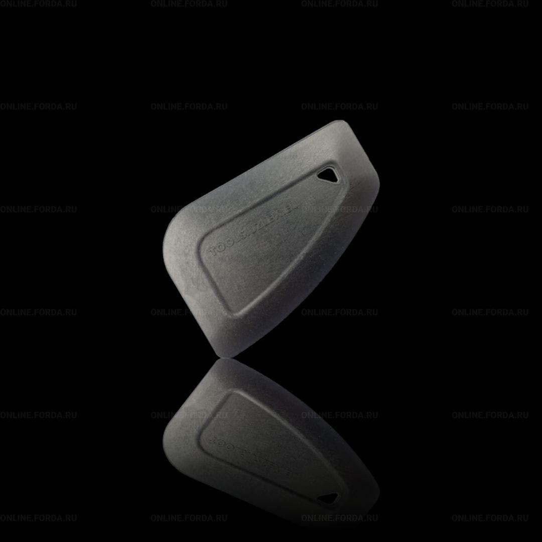 SBS (Small Black Strong) маленький скребок для снятия материала, черный, жесткий (арт. 21912021)