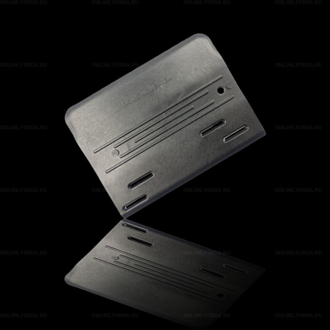 BBS (Big Black Strong) скребок для снятия материала, черный, жесткий (арт. 21912020)