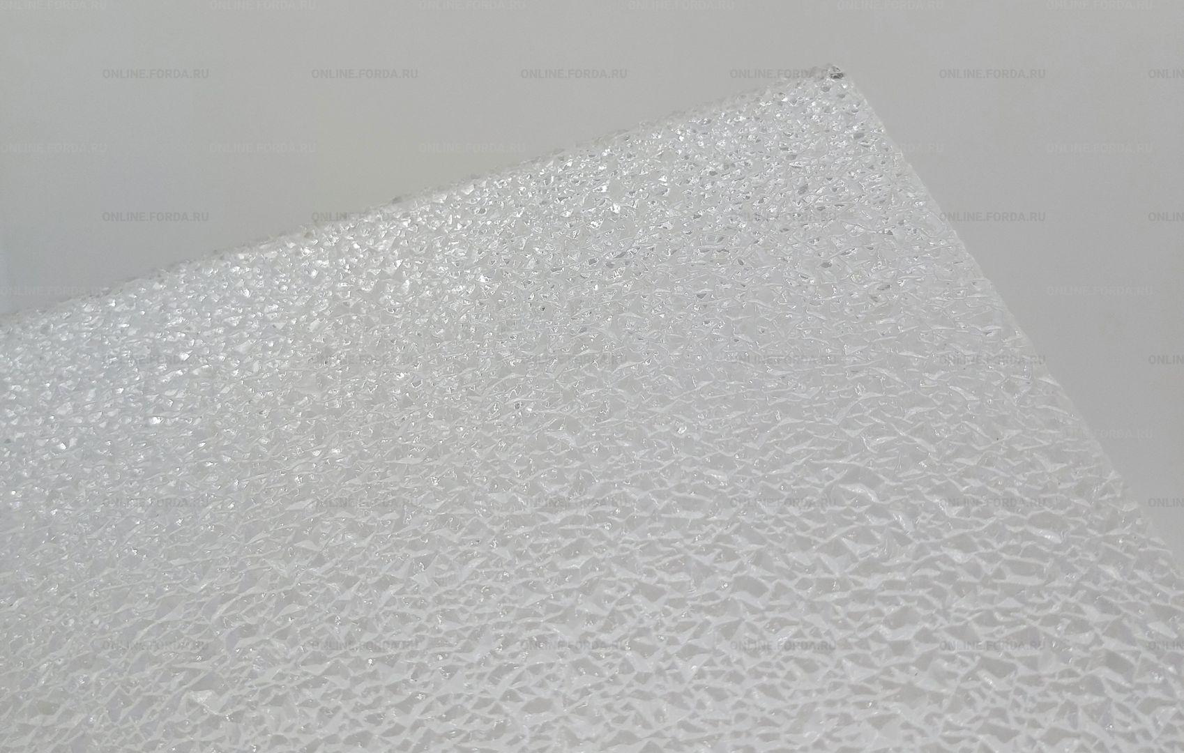 """Полистирол с текстурой """"колотый лёд"""""""